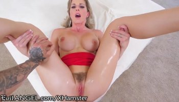 Amateur horny mom Cheating taboo Punish cum in Ass!