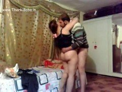 Arab young couple homemade sex video