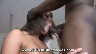 British MILF Carly Gee getting black cock!