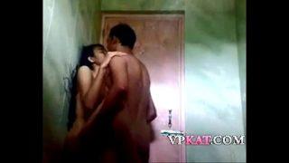 Cute hindu teen was taking a shower when her boyfriend xxx