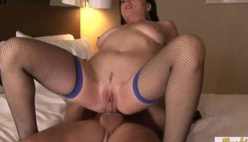 Hardcore Pussy And Anal Fuck With Mature