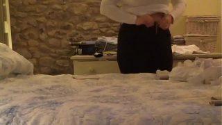 Tight blonde masseuse gives nuru massage and gets boned