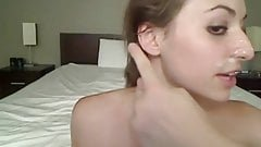 Horny sister loves her brother's cock hotel room amateur videos