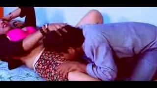 Hot Desi girl and boy romance at home