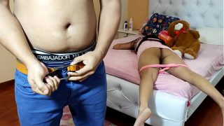 hot desi teen having a nice sex with her devar