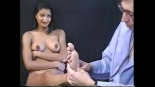 Hot Desi whore loves to get pussy eating on the chair xxx