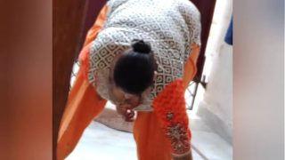 Hot milf indian maid strip flashing xxx