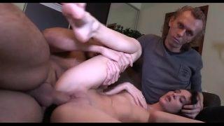 Katalin Sapkin plays with the sexy Dora Angyal