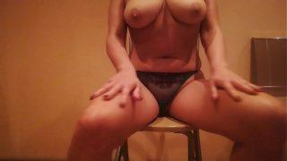 mature anal with big dildo