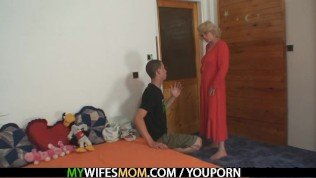 Mom? WTF are you doing with my BF?!!