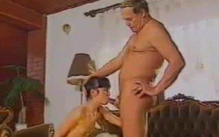 Retro Fat Guy Fucks His Sweet Young girl