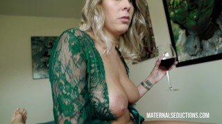 Sexy mom reads fairy tales and then fucks stepson – Nikki Brooks