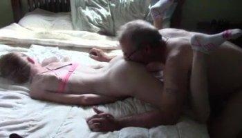 Stepdaddy & daughter home alone