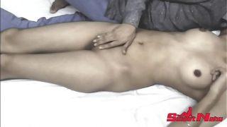 Sweet Nehu Hot Teen girl first time secret sex with here boy friend clear Hindi Audio