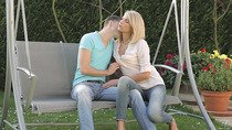Watch pretty blonde Karina Grand gets fucked hard by her boyfriend